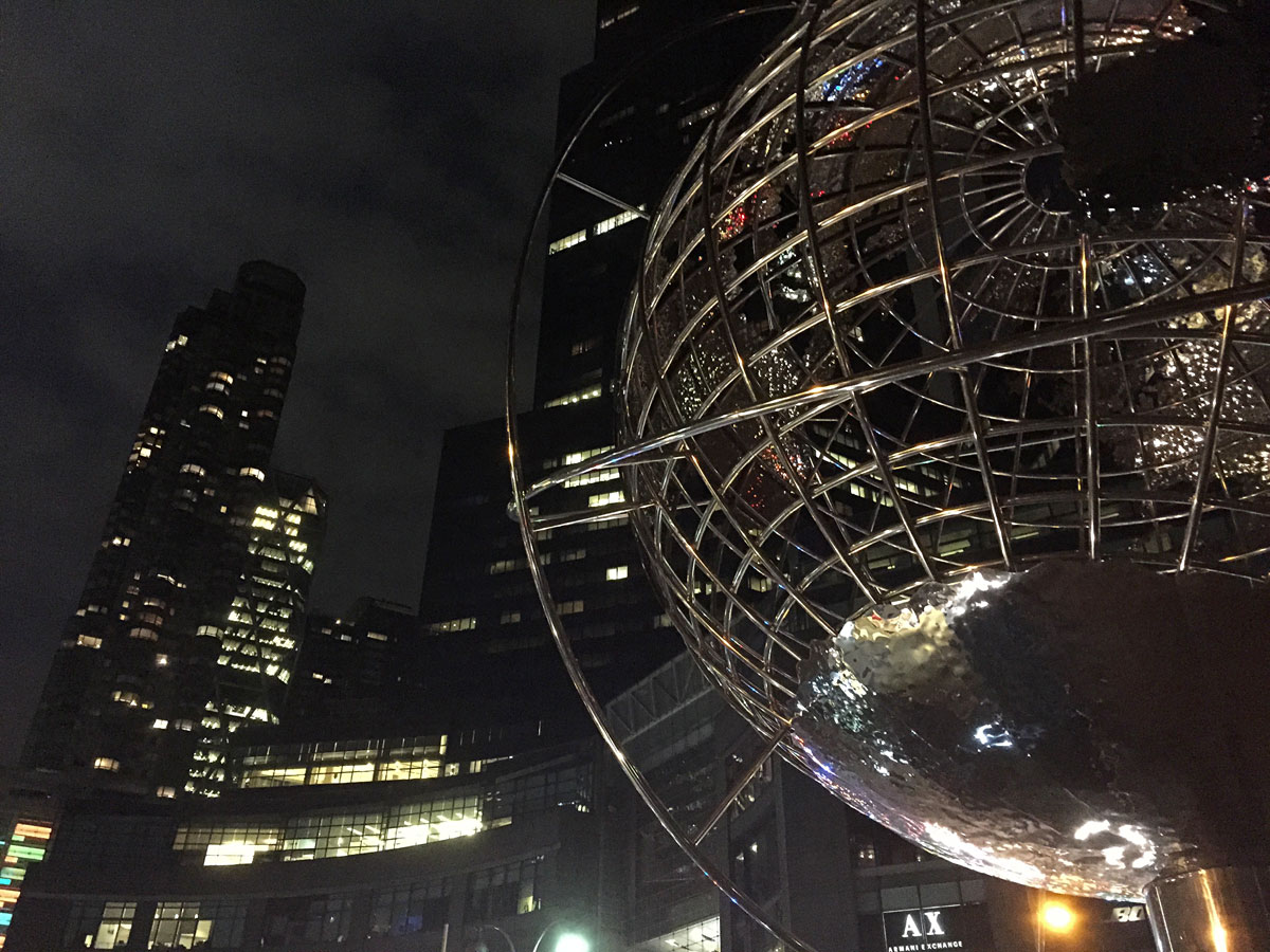 Columbus-Circle, New-York, Ecke Central Park