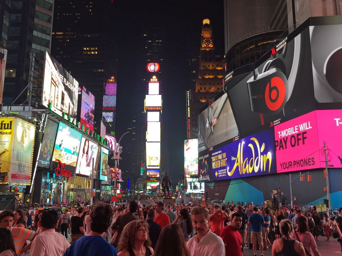 New-York, Times-Square