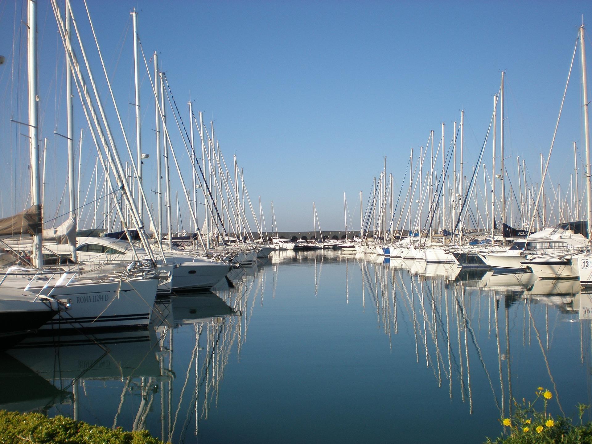 Hafen in Civitavecchia