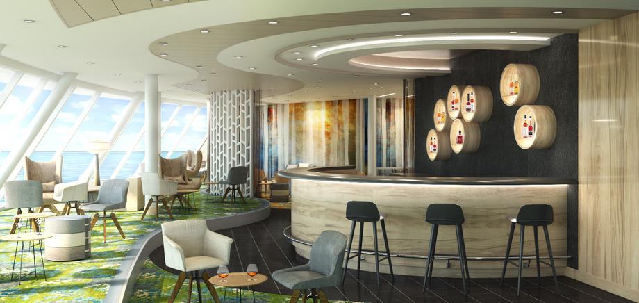 © TUI Cruises: The Himmel & Meer Lounge