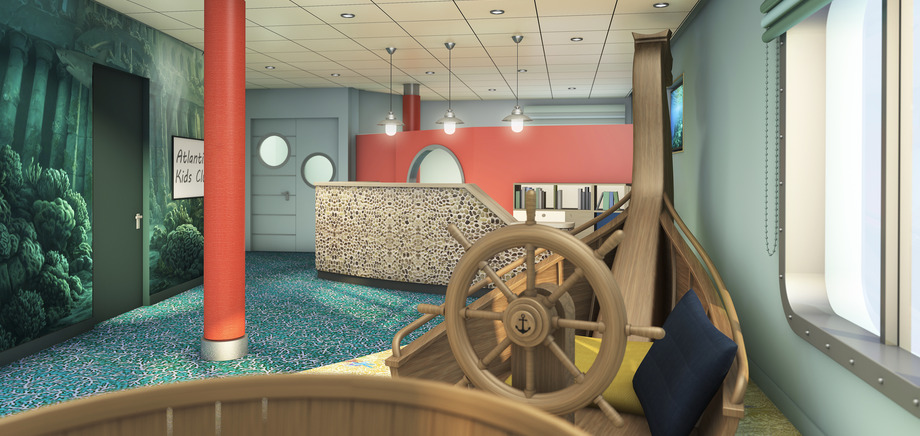 © TUI Cruises: The kids-club aboard Mein Schiff 6