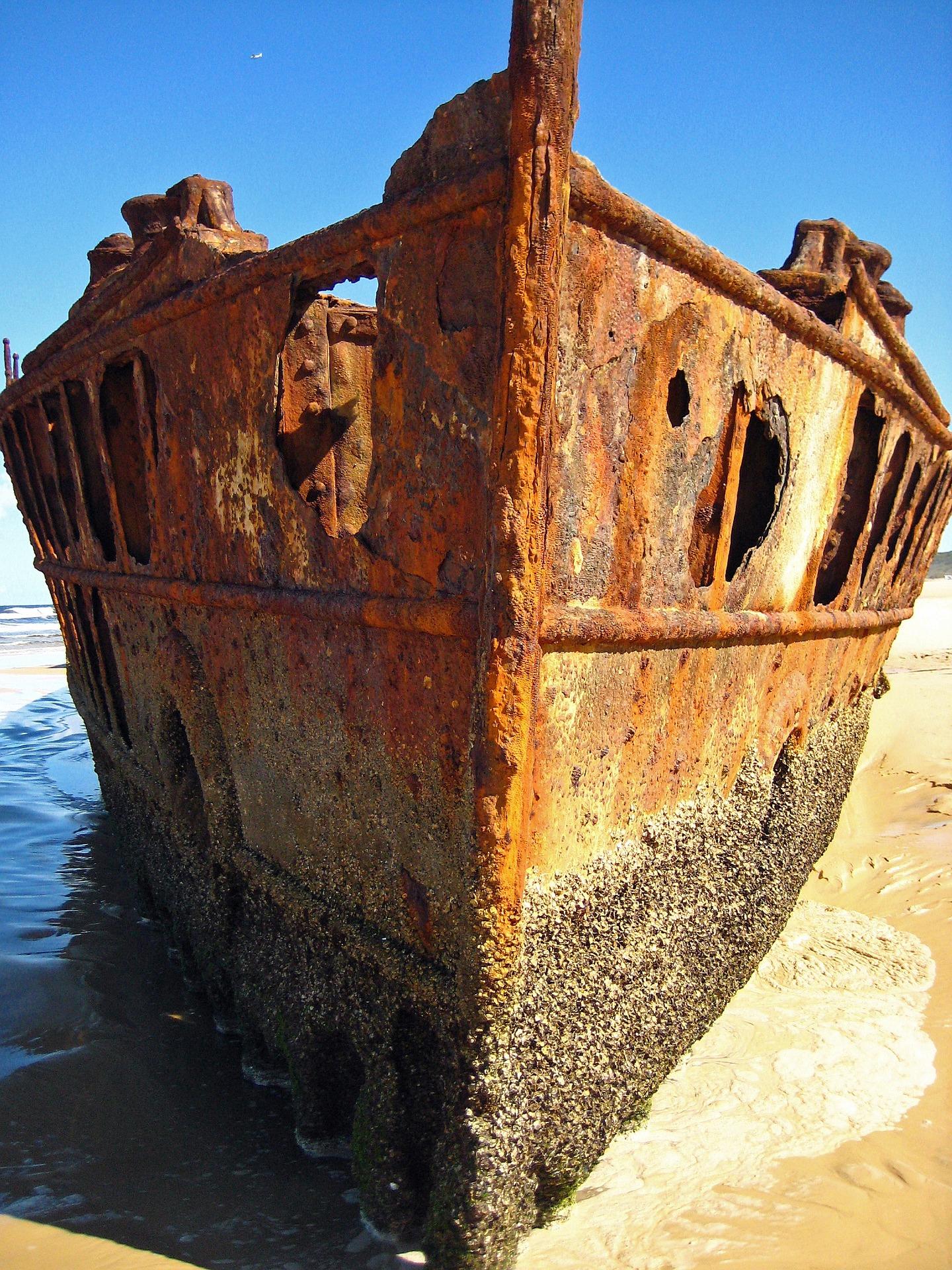 Schiffswrack Fraser Island Australien