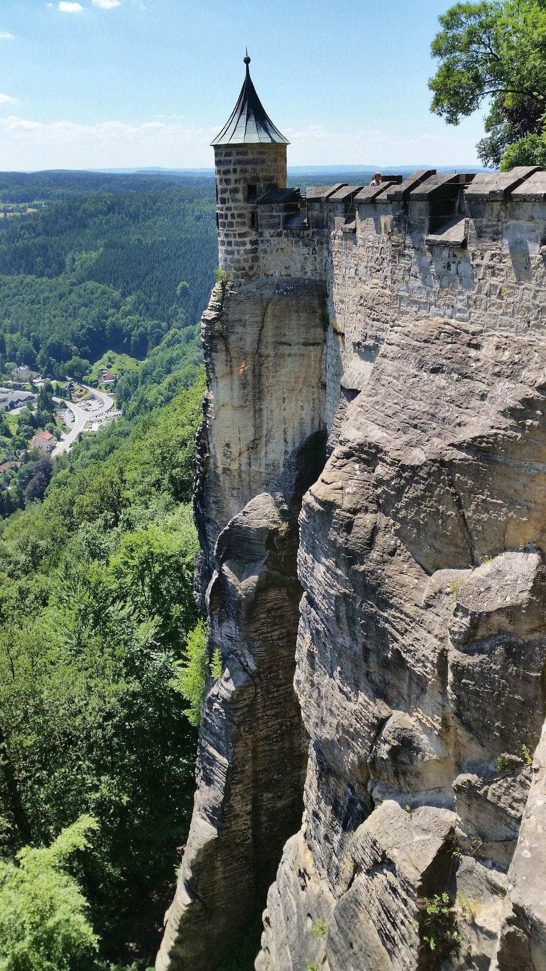Elbsandsteingebirge Festung Königstein