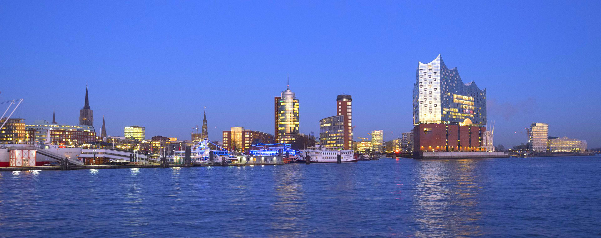 The Elbphilharmonie in Hamburg
