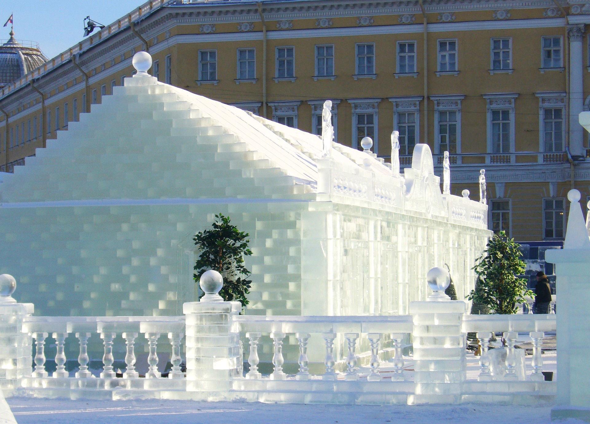 Eispalast in St. Petersburg