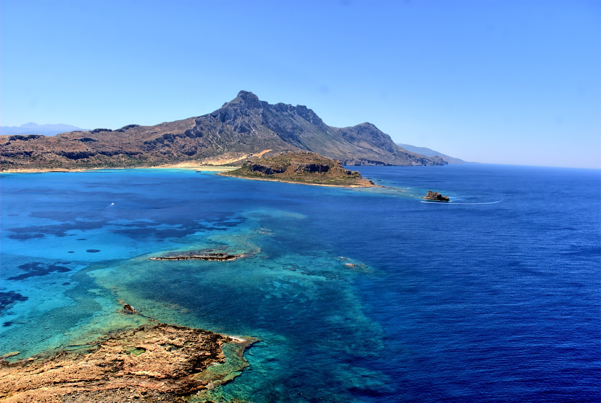 The holiday island of Crete