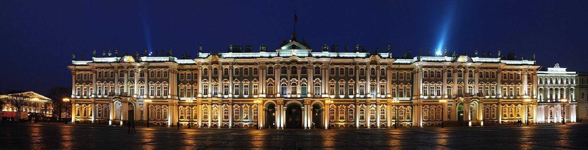 Die staatliche Eremitage in St. Petersburg