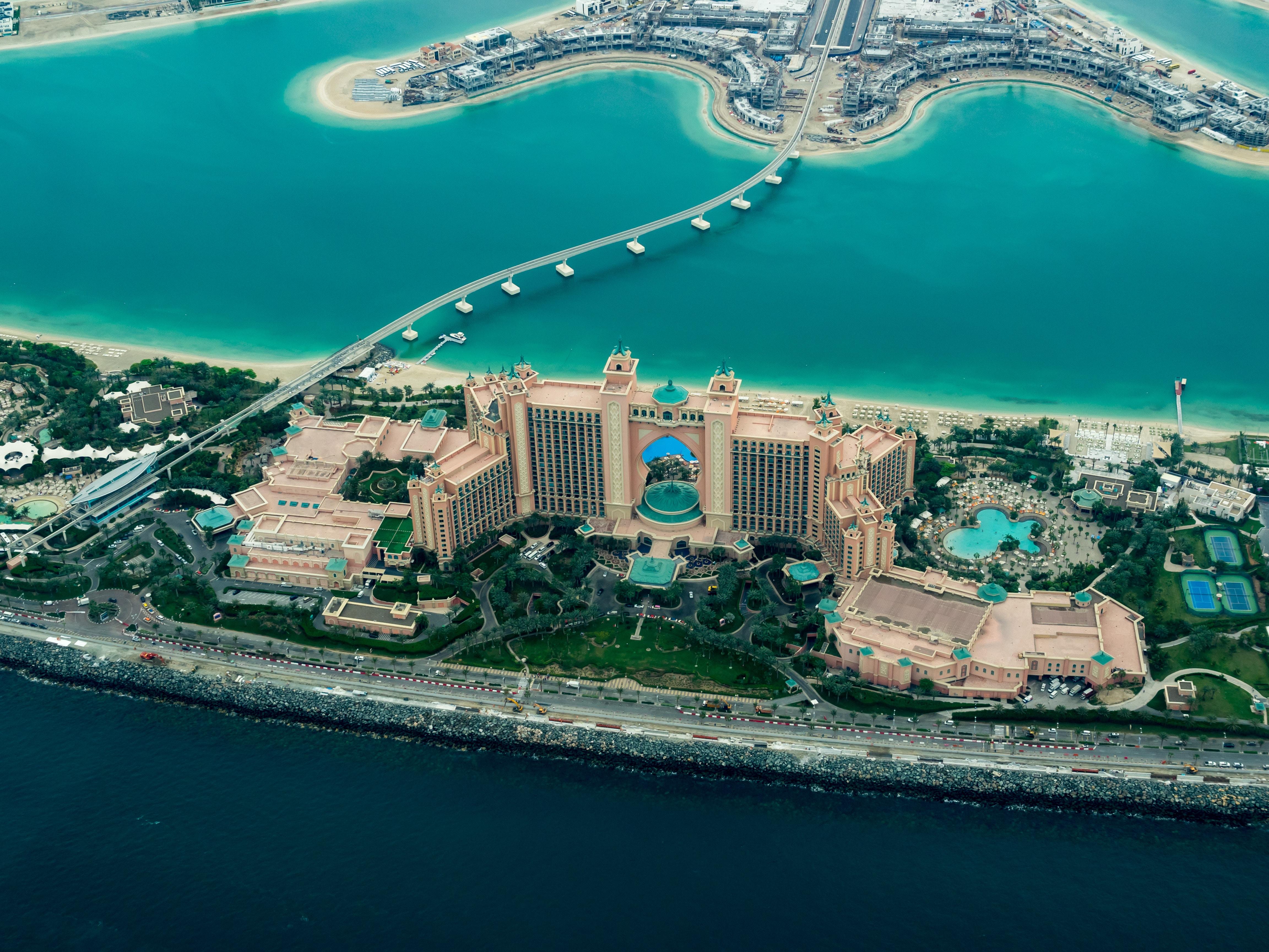 Das wunderschöne Dubai von oben