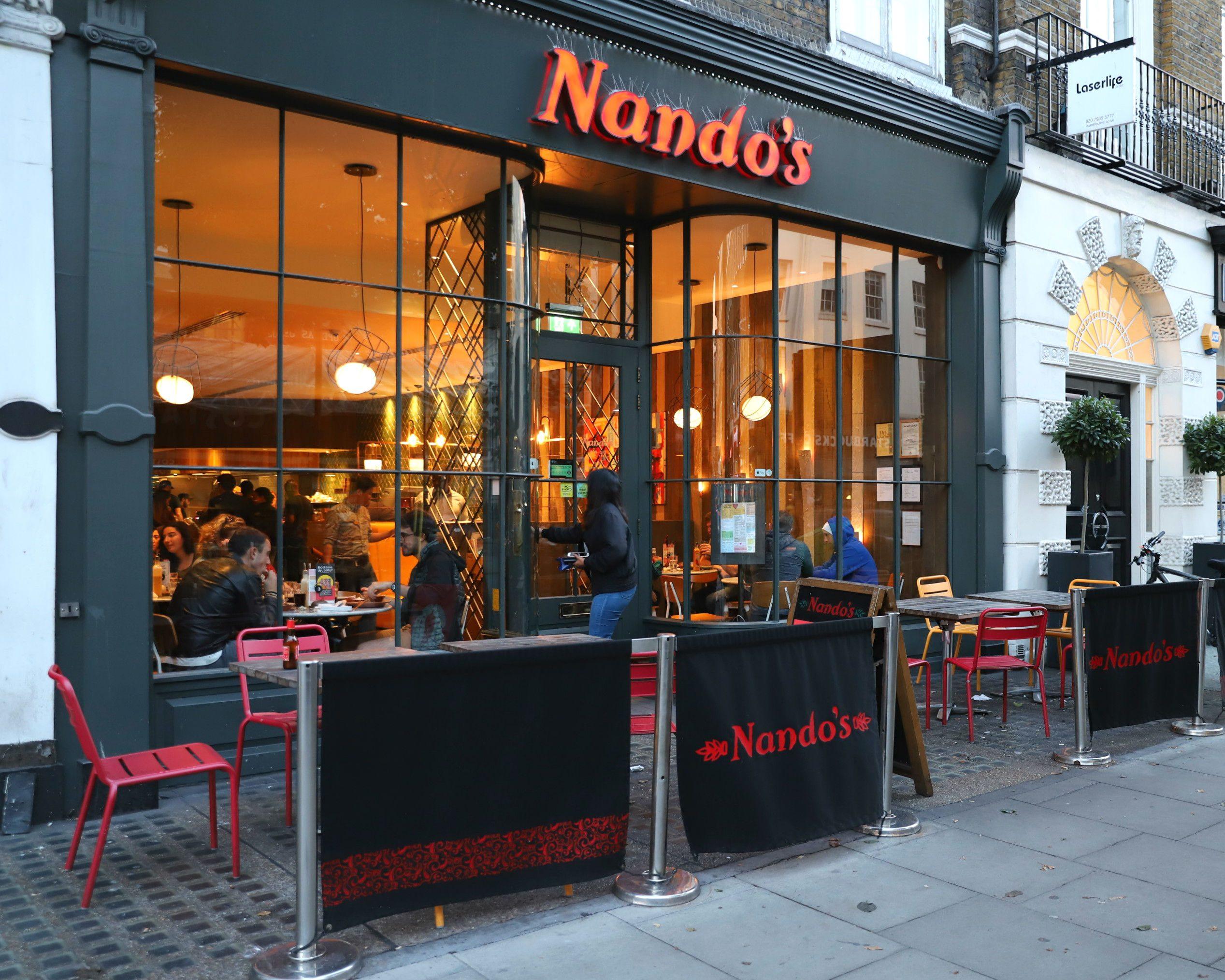 Das Nando's in London
