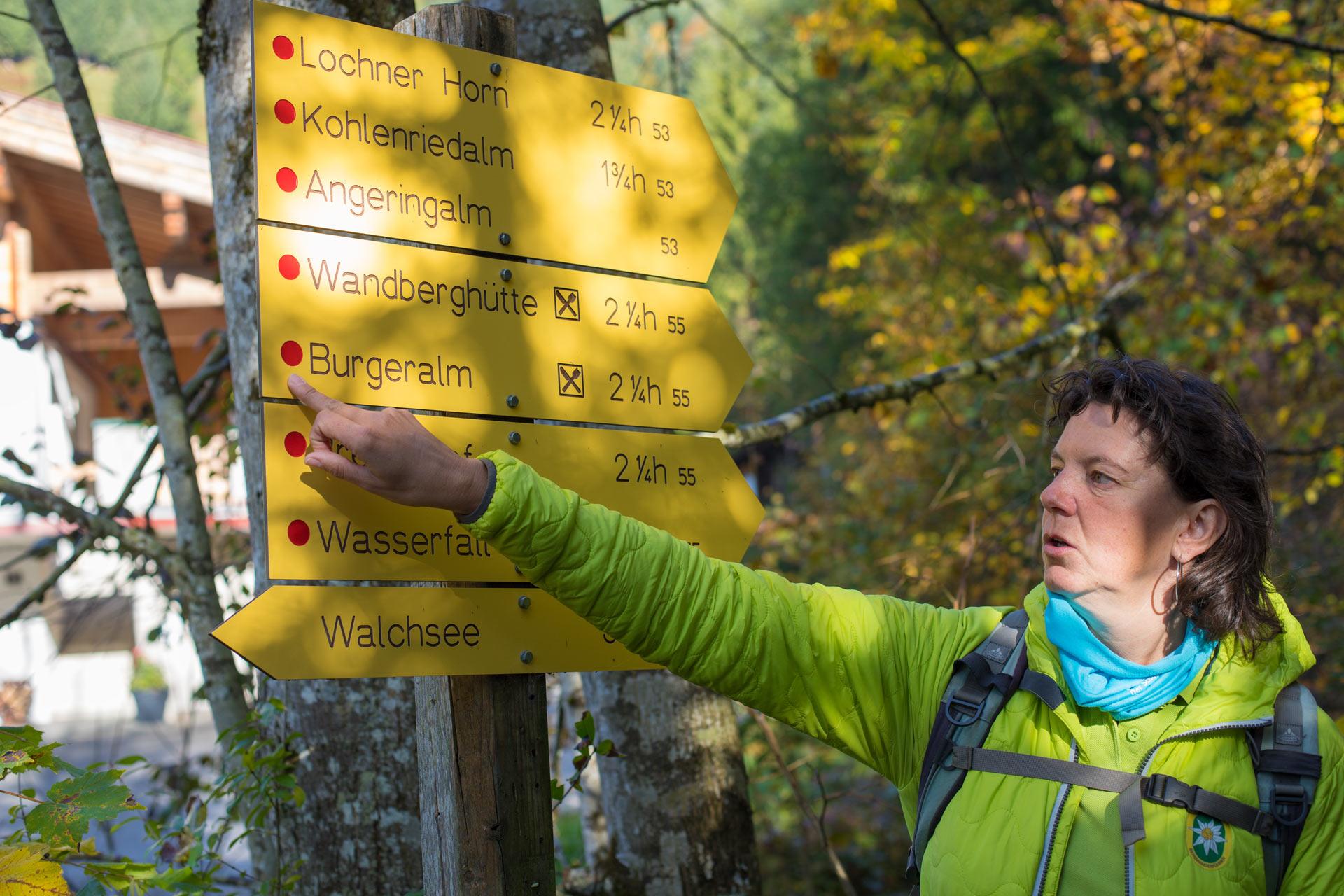 Hiking Guide Manuela Kalkhauser in the Tyrolean Kaiserwinkl