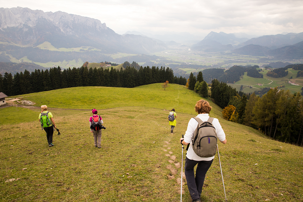 Wonderful panoramic views in Kaiserwinkl