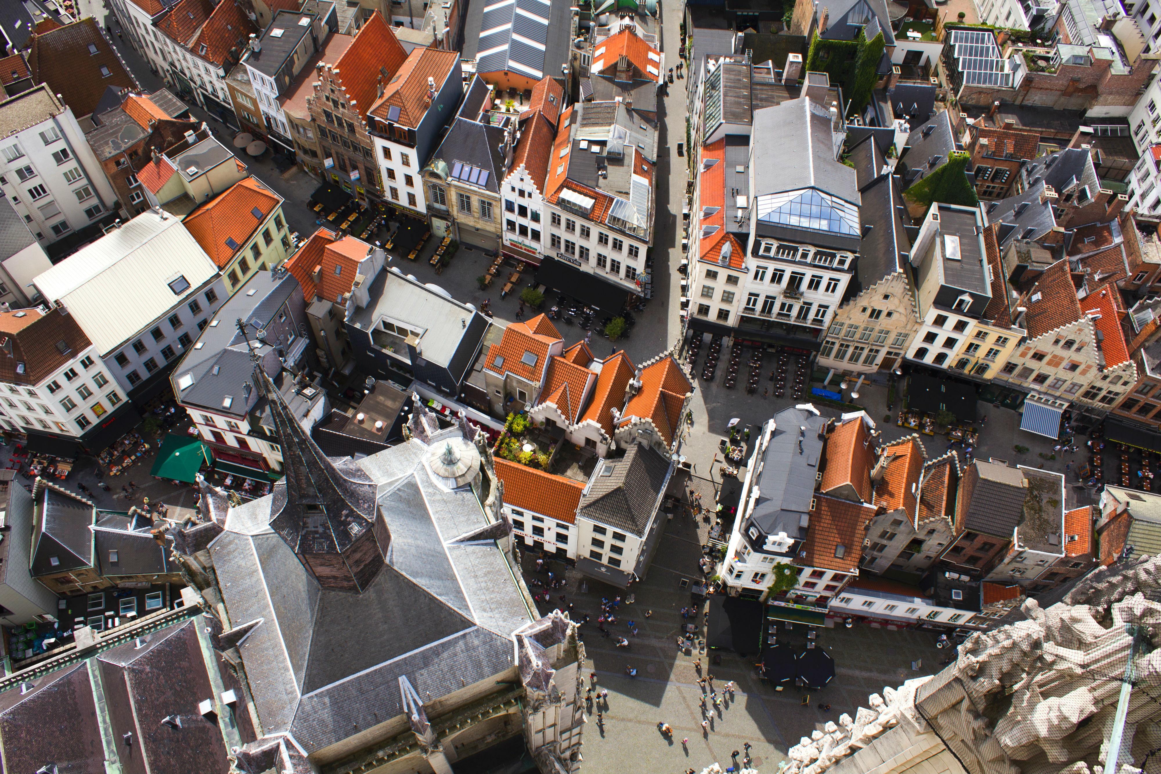 Antwerpen von oben