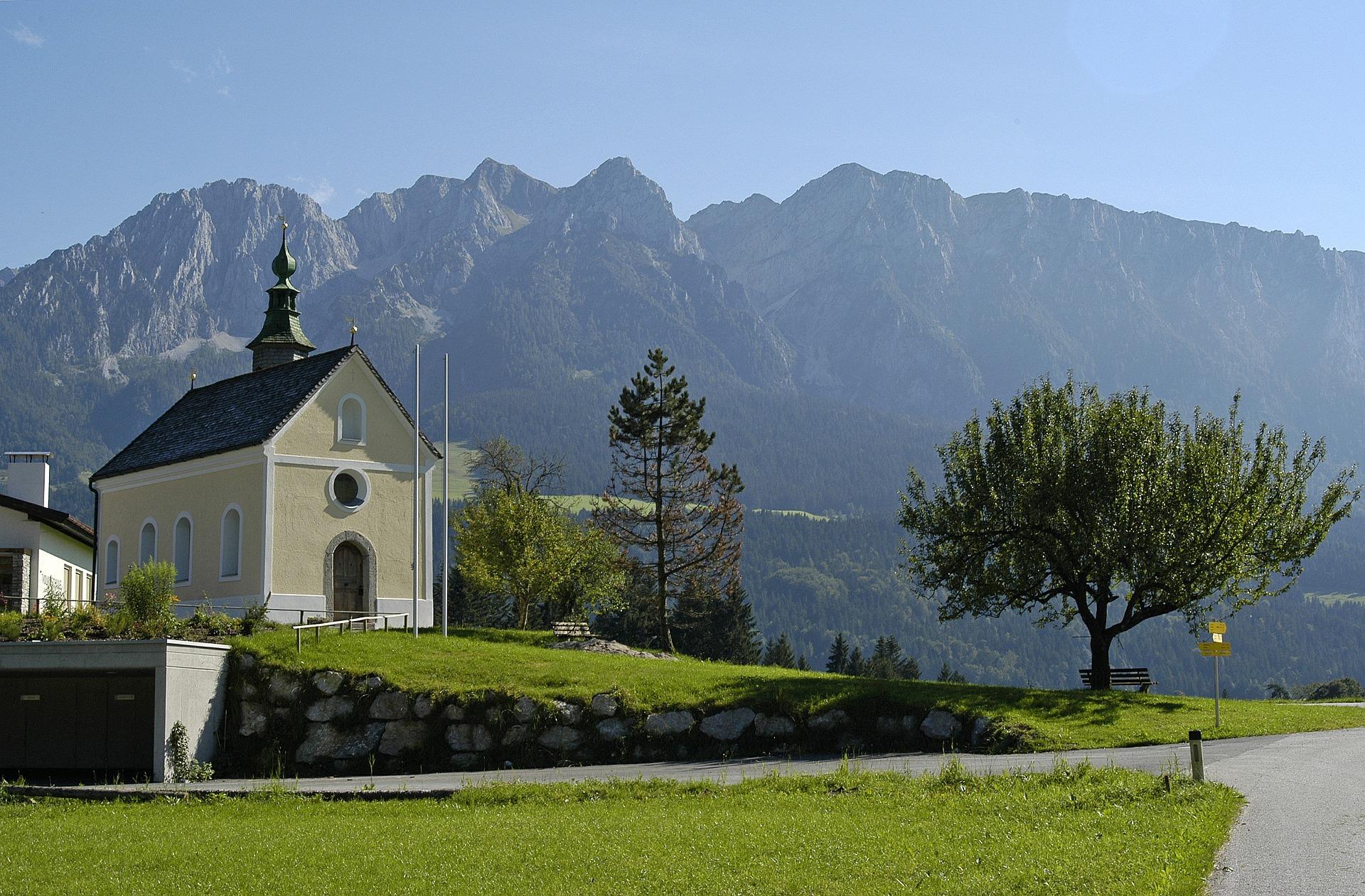 Chapel in the Tyrolean Kaiserwinkl