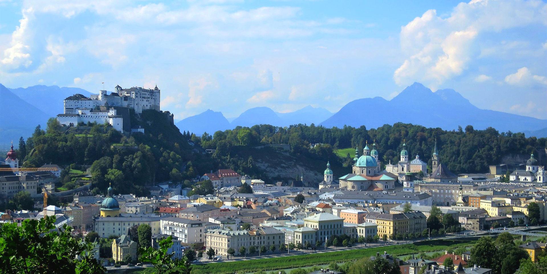 Salzburgs Festung, der Hohensalzburg