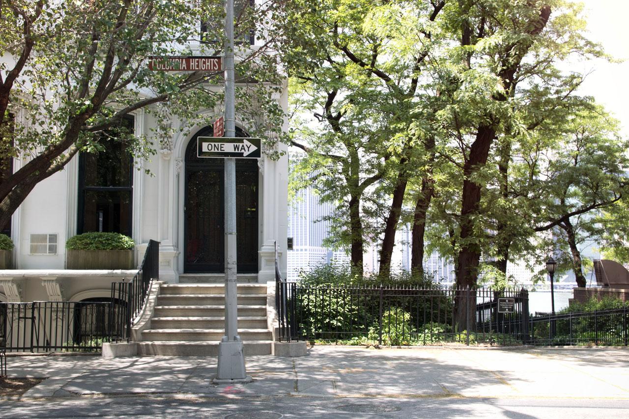 Straße in Brooklyn Heights