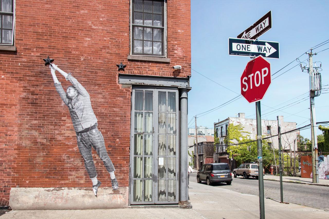 Das Viertel Red Hook in Brooklyn