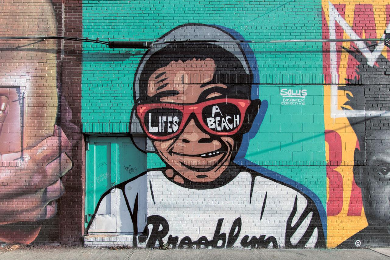 Street Art im Viertel Bushwick