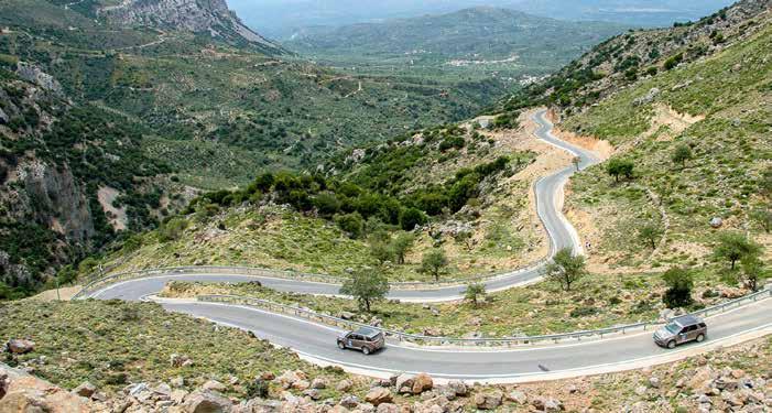 Land Rover Experience auf Kreta