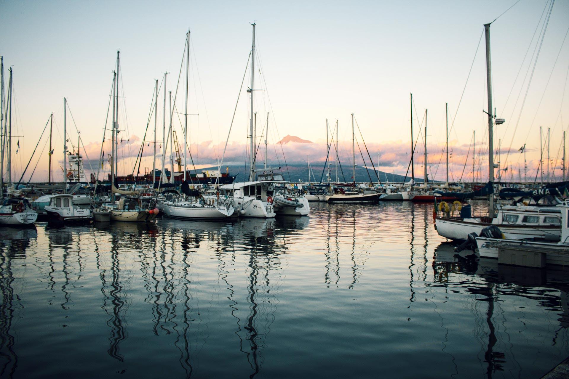 Hafen bei Pico