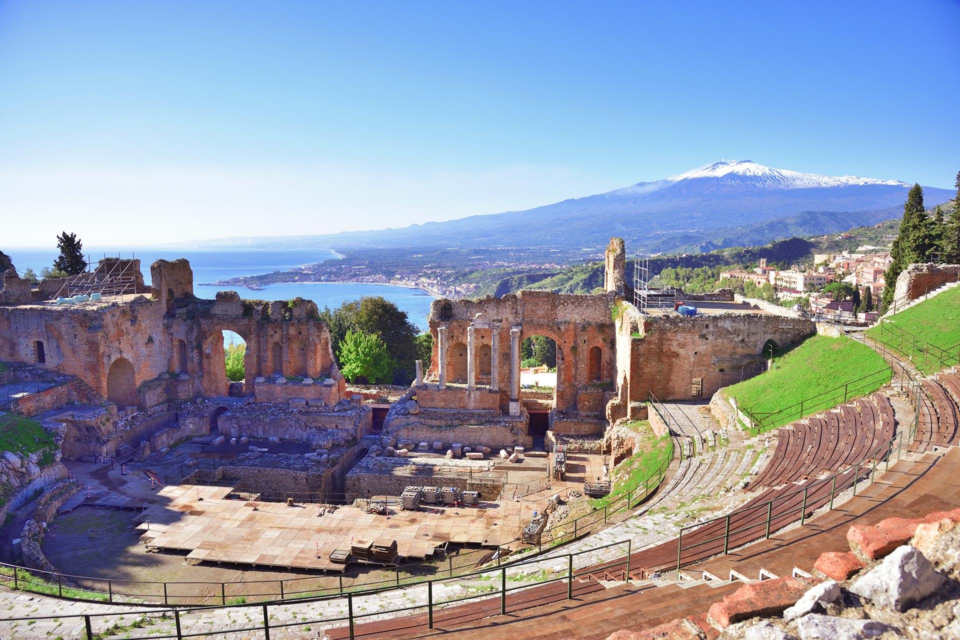 Ruinen in Sizilien