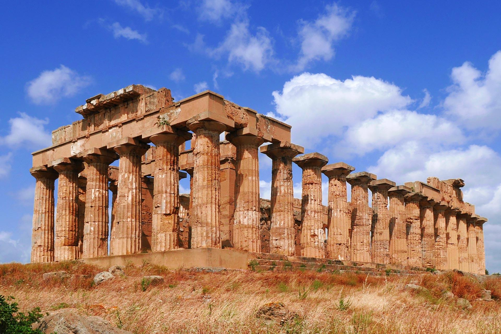 Griechischer Tempel in Sizilien