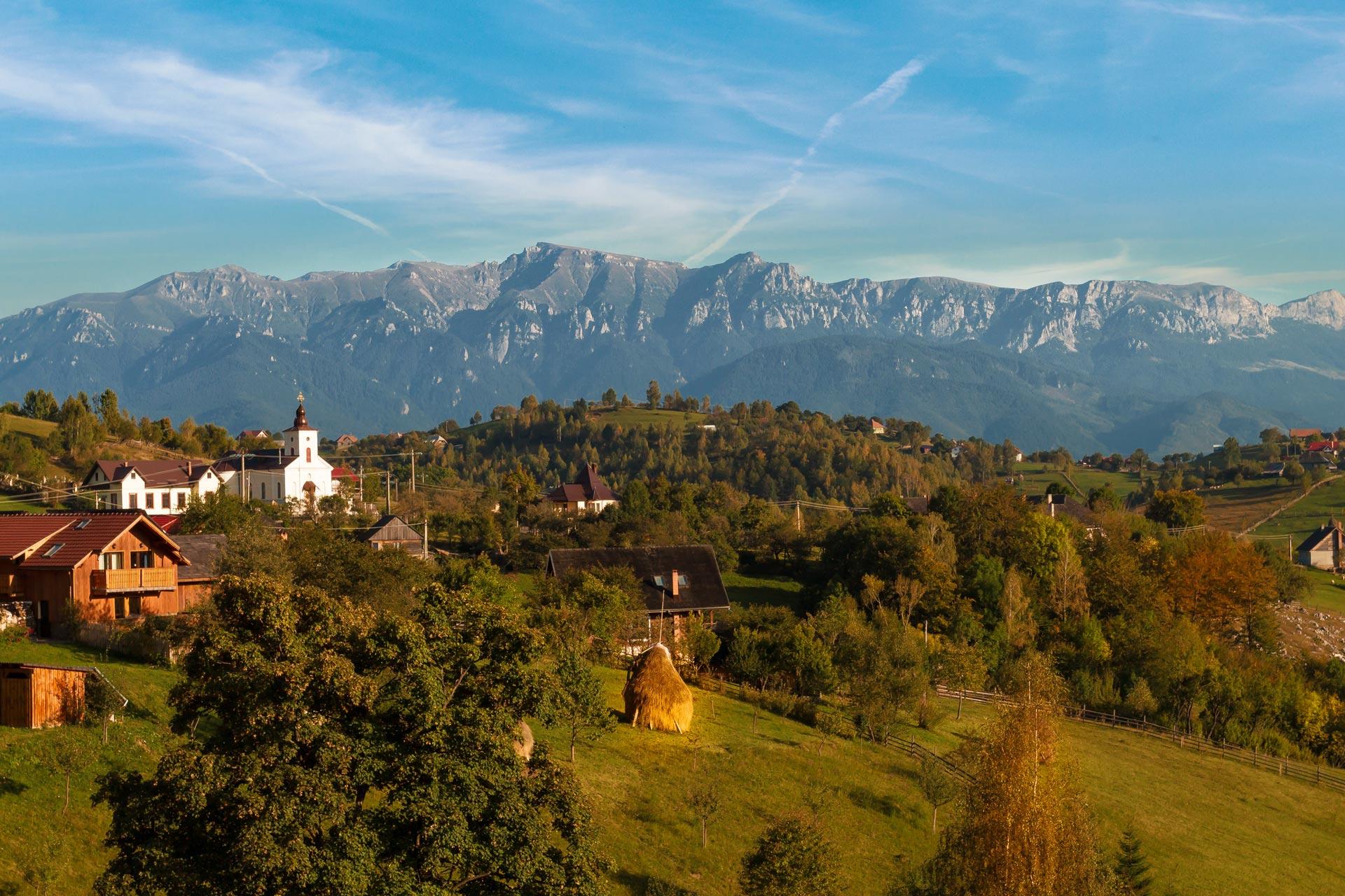 Magura-Dorf - Rumänien