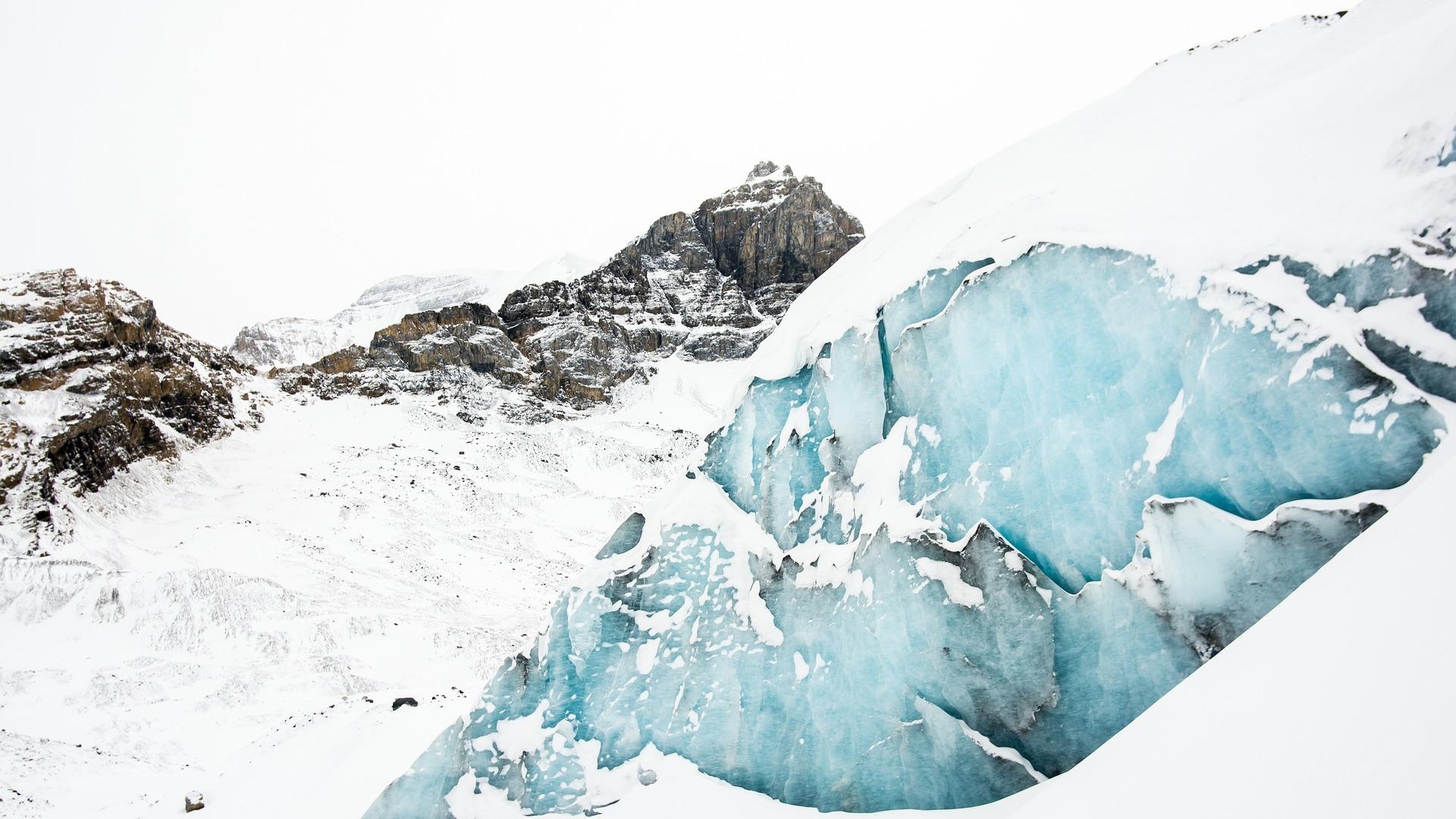 Gletcher in den Alpen