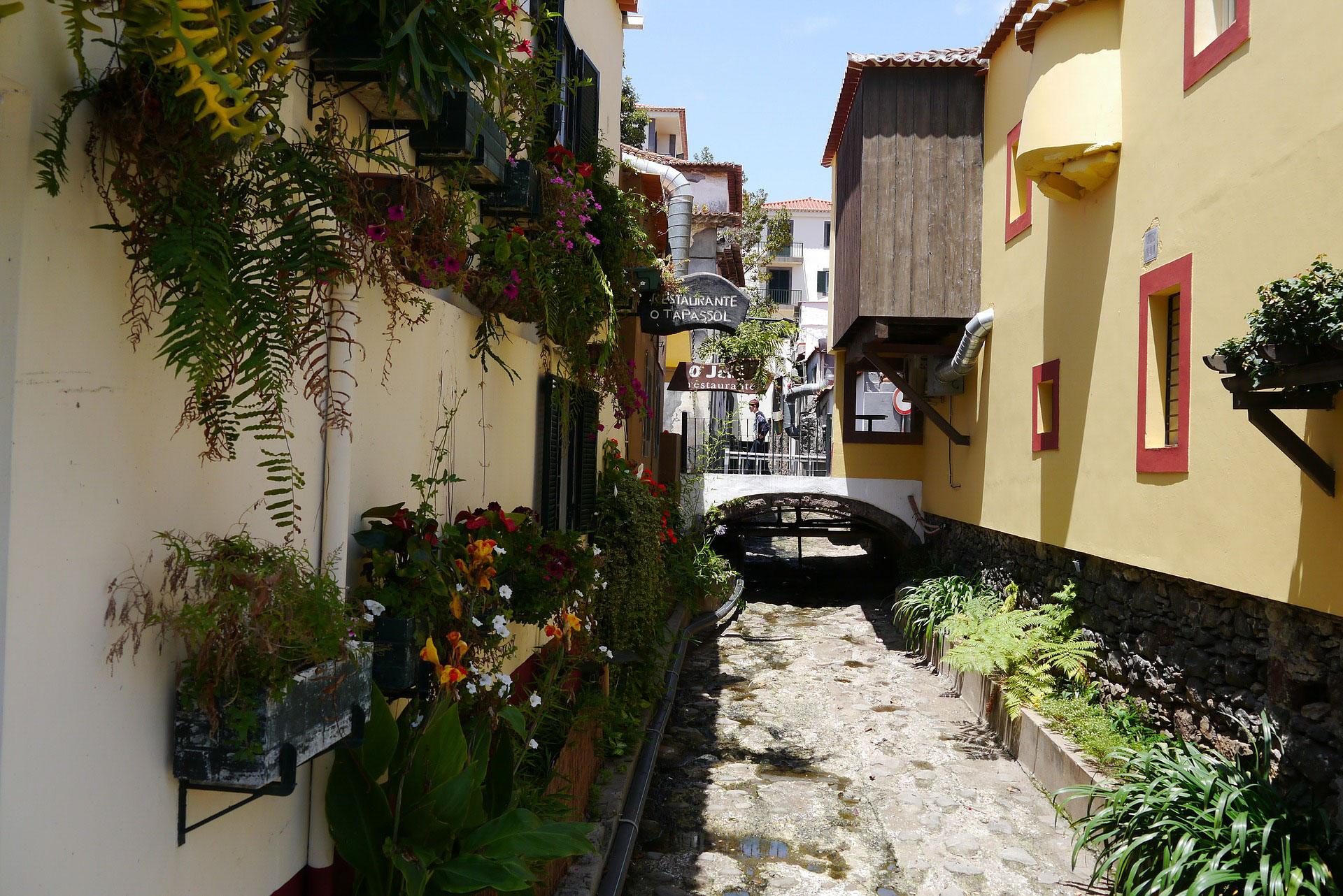 Innenstadt von Funchal