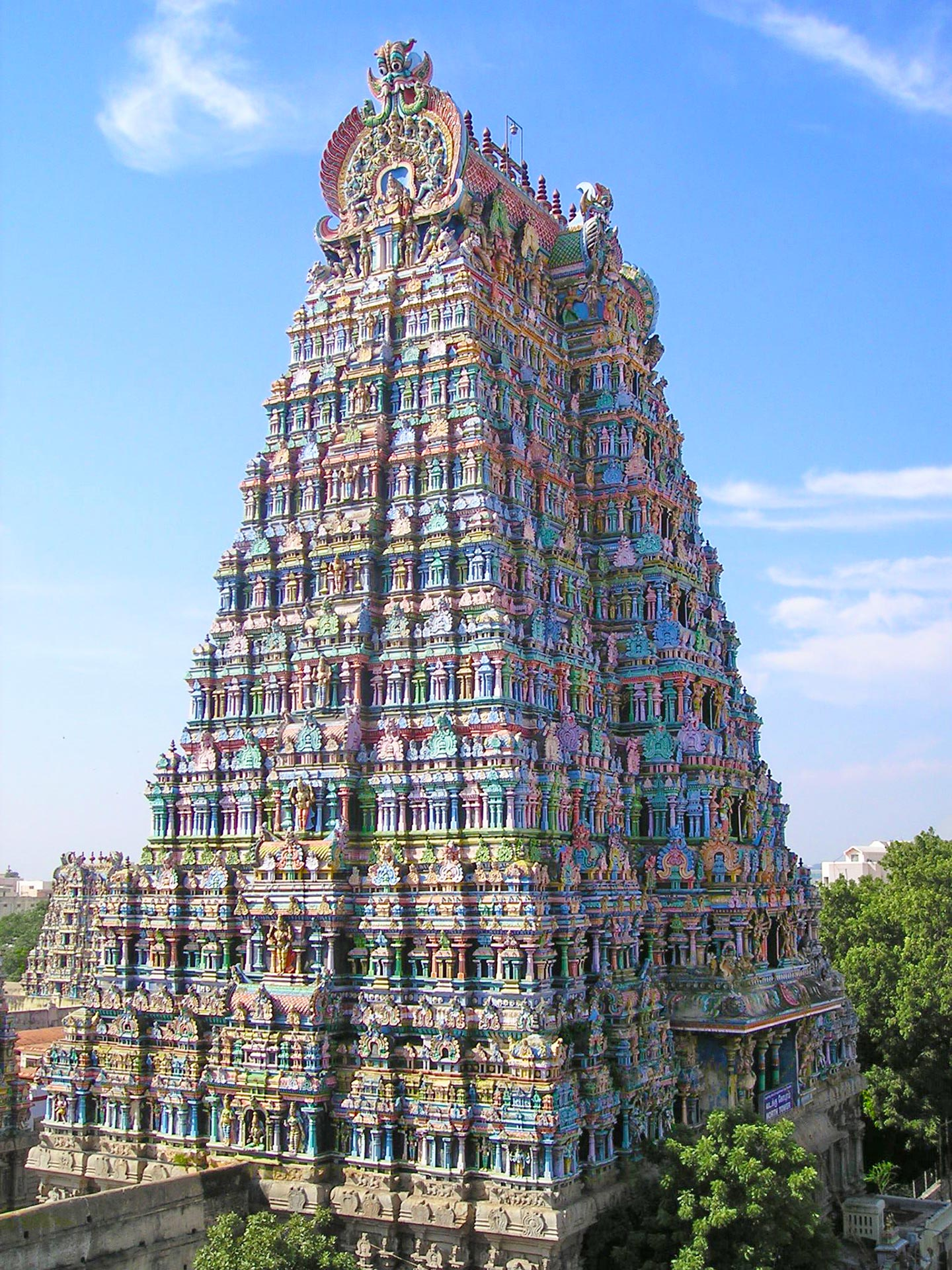 Sri Menkaschi temple