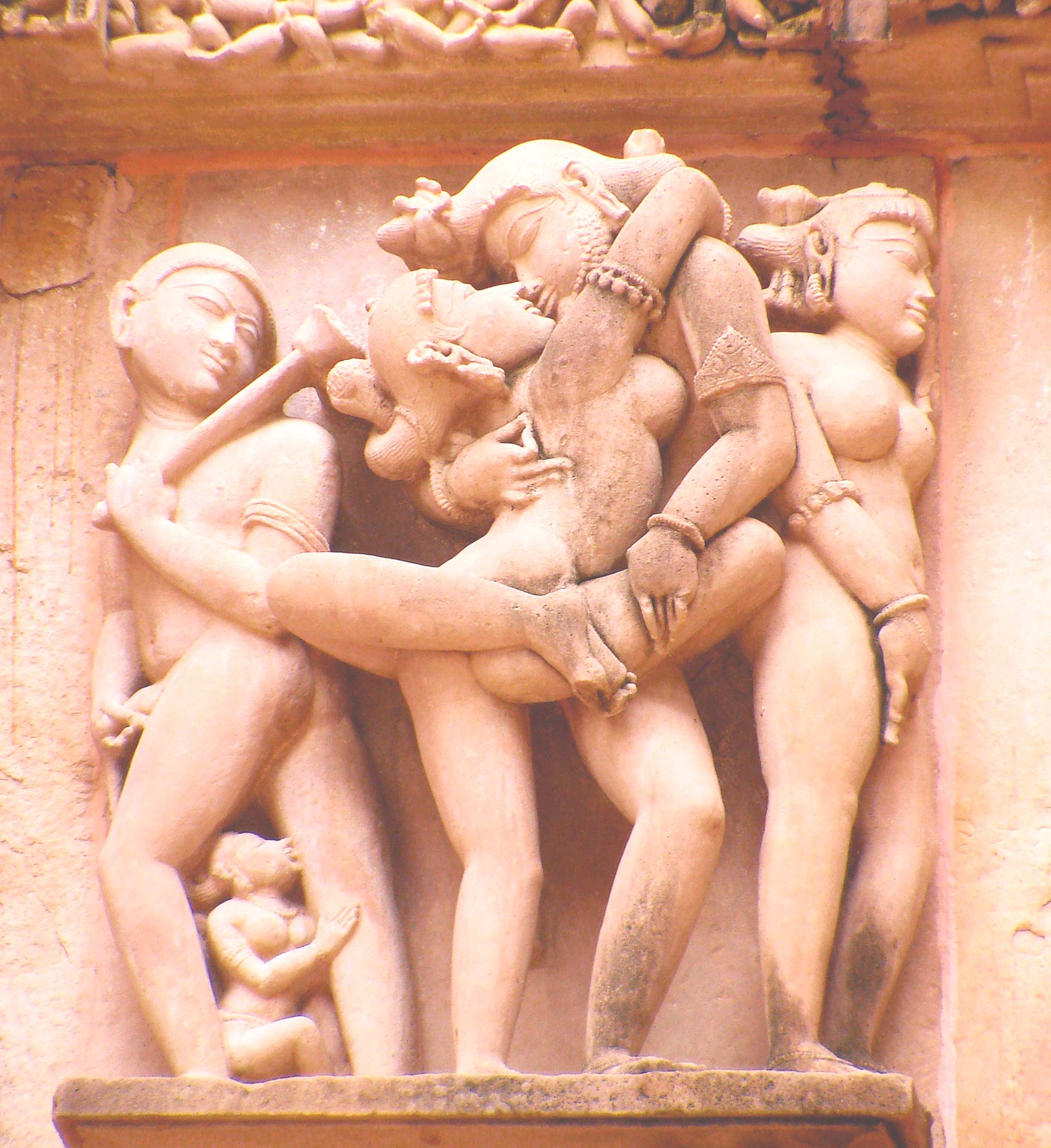 Khajuraho temple district
