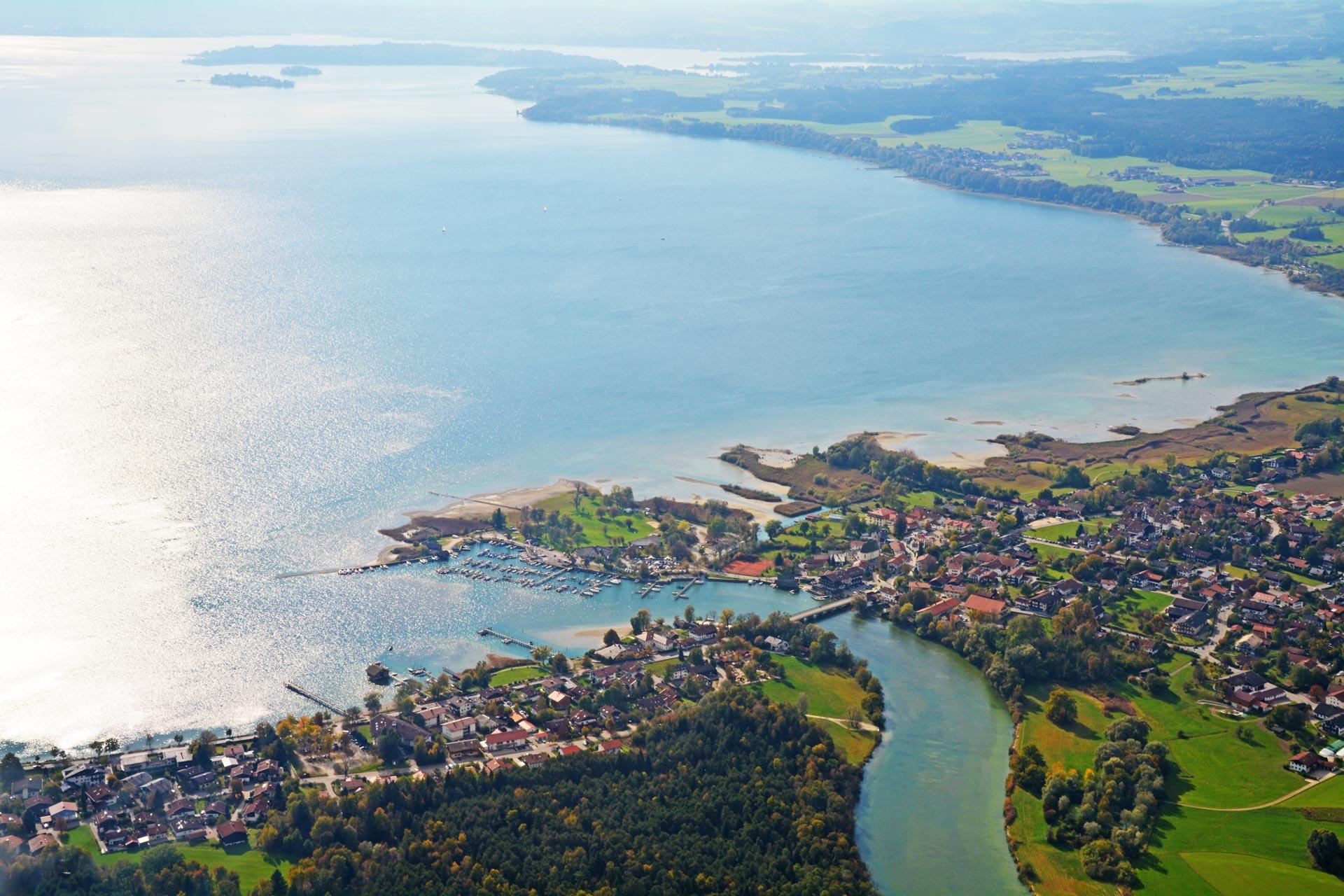 Engstelle der Tiroler Achen