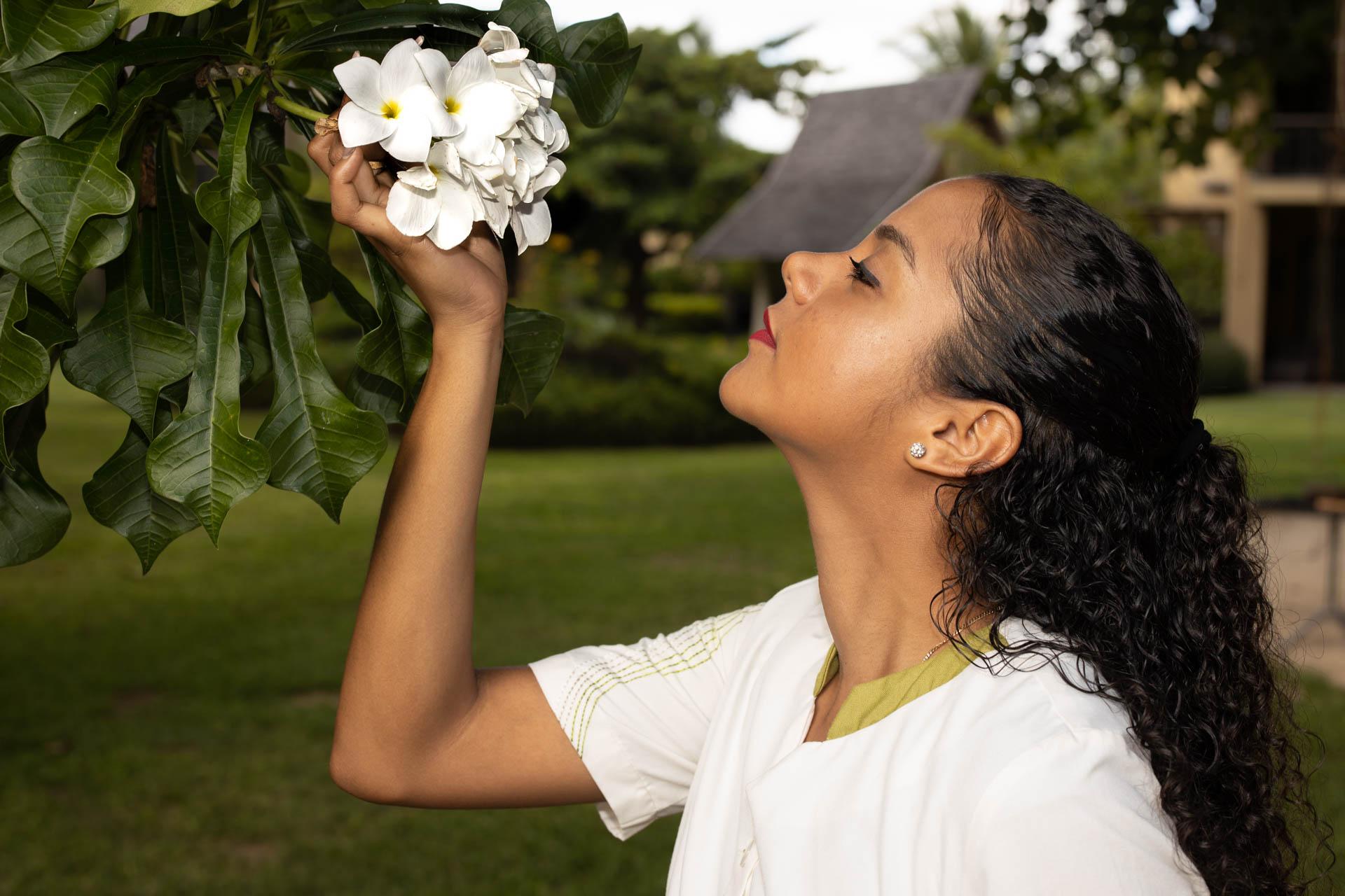 Sweet smell of a Frangipani