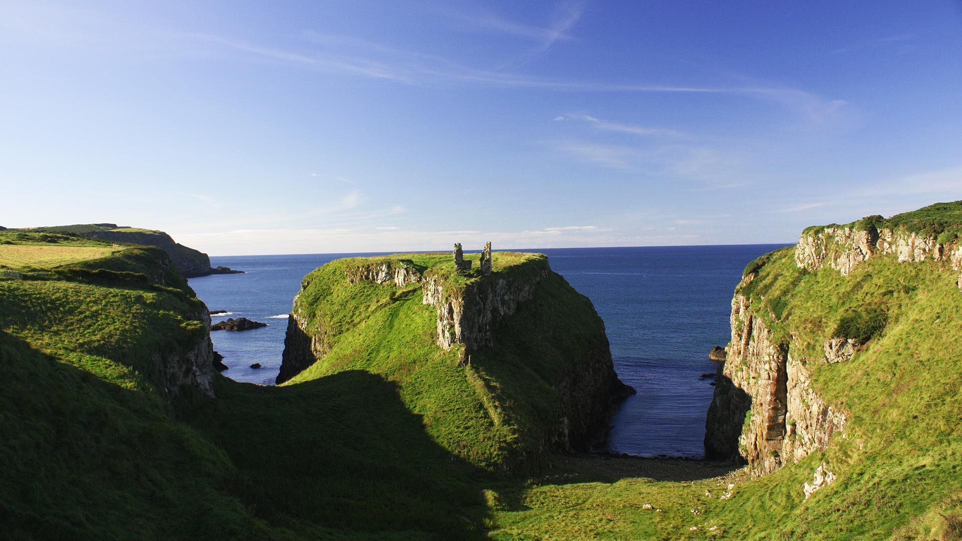 Coast in the north of Northern Ireland